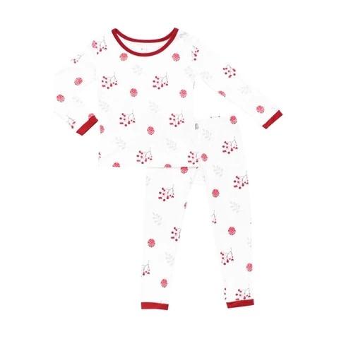 Kyte Baby Pajama Set - Holly Berry