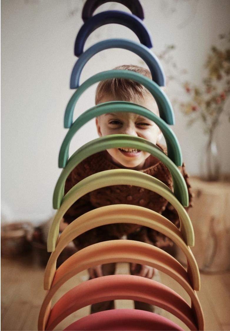 Kinderfeets Rainbow Arches