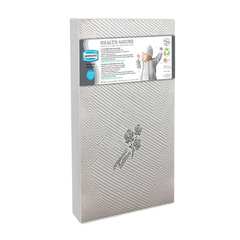 Simmons Crib Mattress - Health Assure Diamond