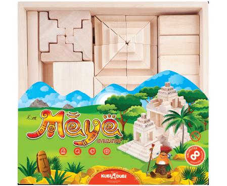 Kubi Dubi Maya Civilization Building Block Set