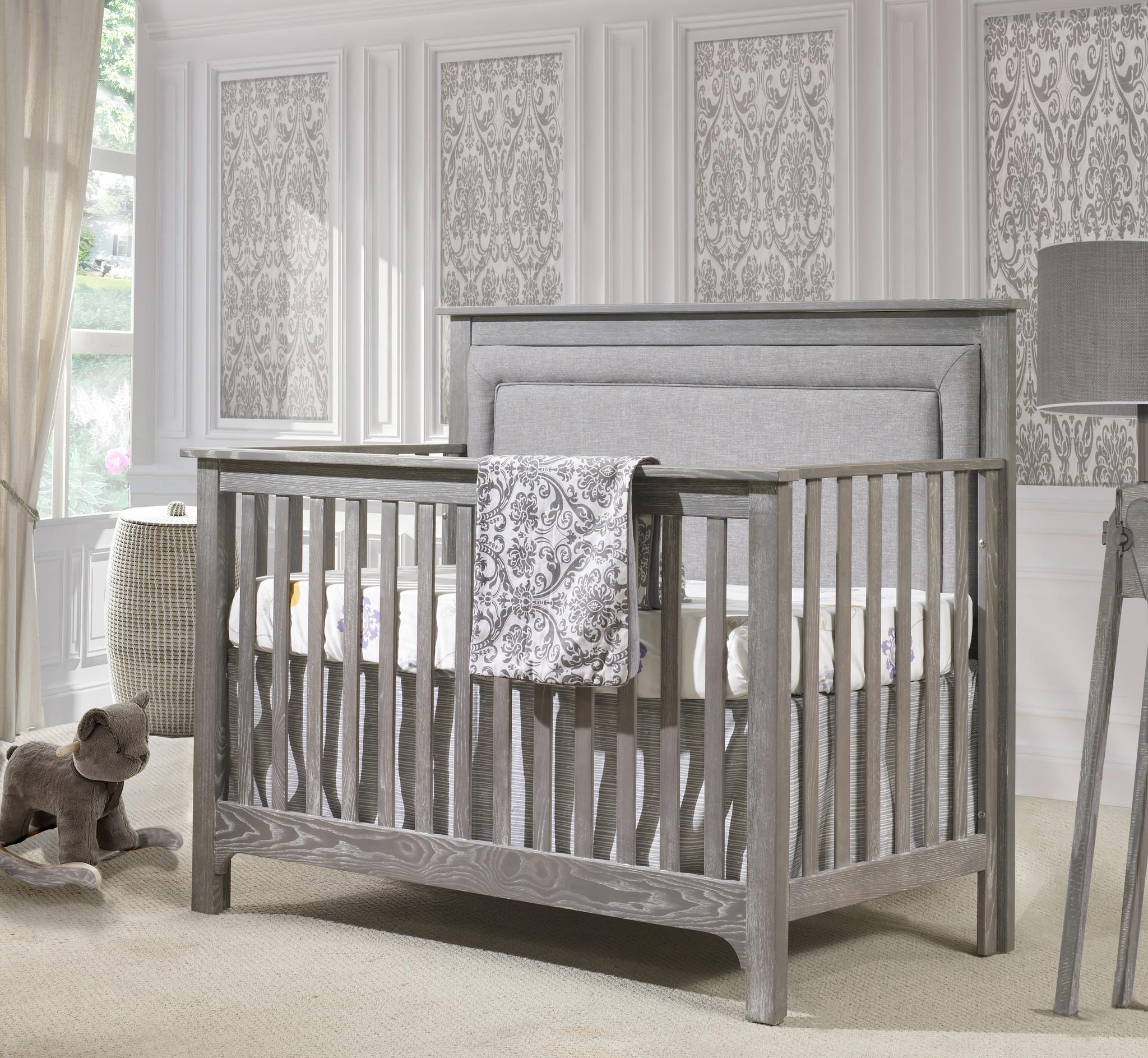 Nest Juvenile Emerson Crib w/ Upholstered Panel