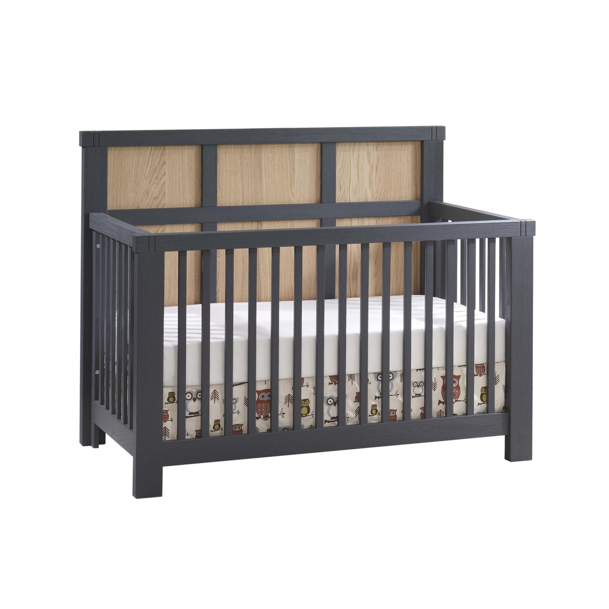 Natart Juvenile Rustico Moderno Convertible Crib