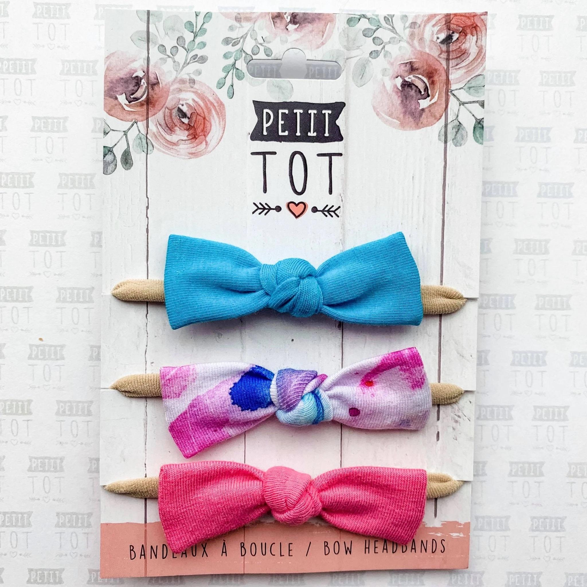Petit Tot Headband - 3 pk.