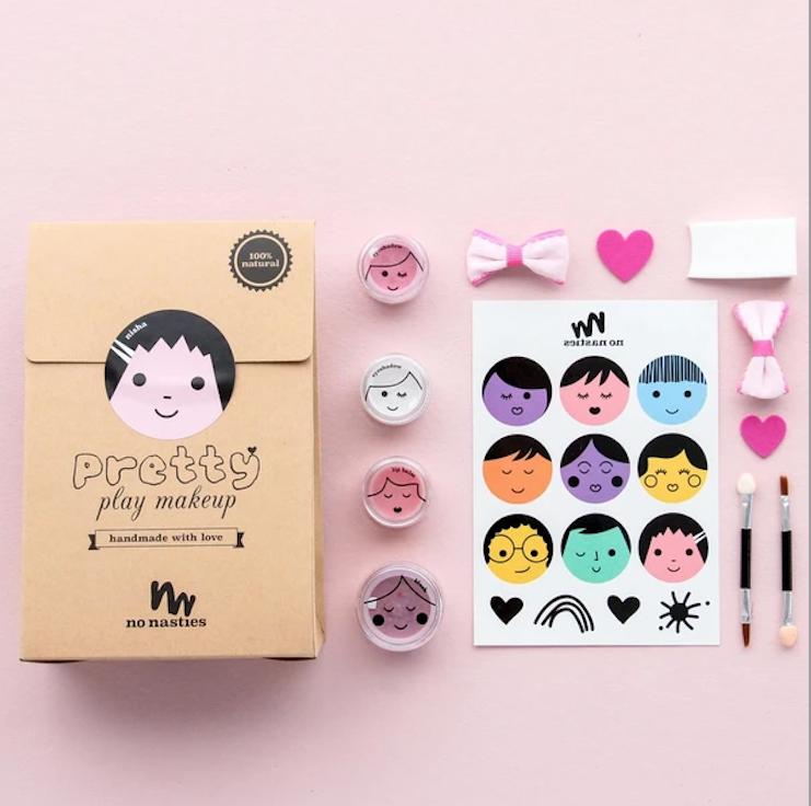 No Nasties Nisha DELUXE Pink Play Makeup Pack