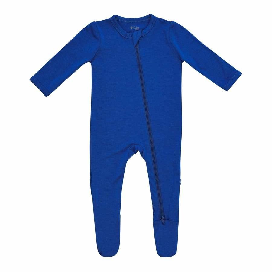 Kyte Baby Zippered Footie - Indigo