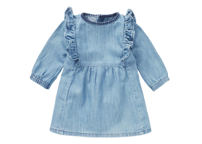 Noppies Melita Long Sleeve Dress - Medium Wash