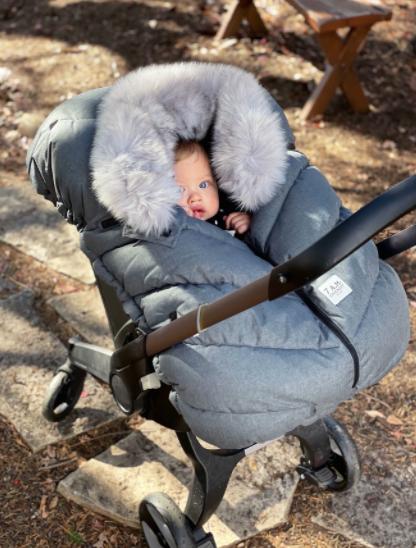 7am Enfant Cocoon - Grey Tundra
