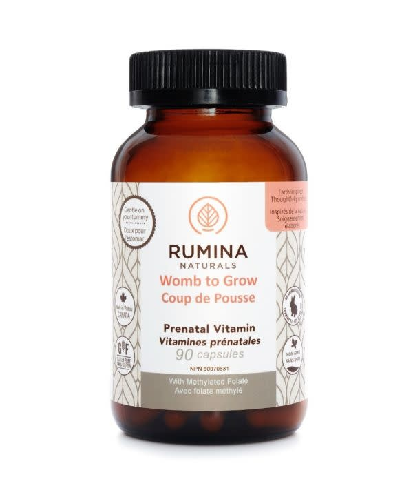 Rumina Womb to Grow Prenatal Vitamins