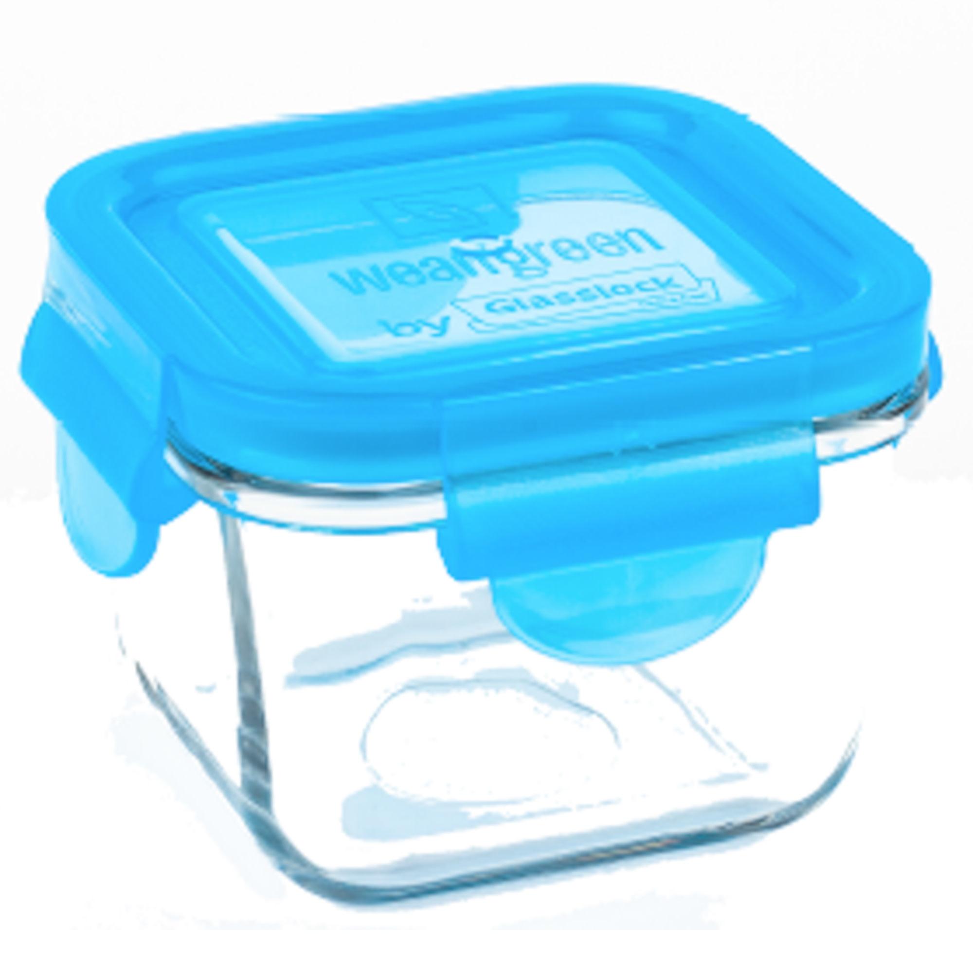 Wean Green 7 oz. Snack Cube - Blue
