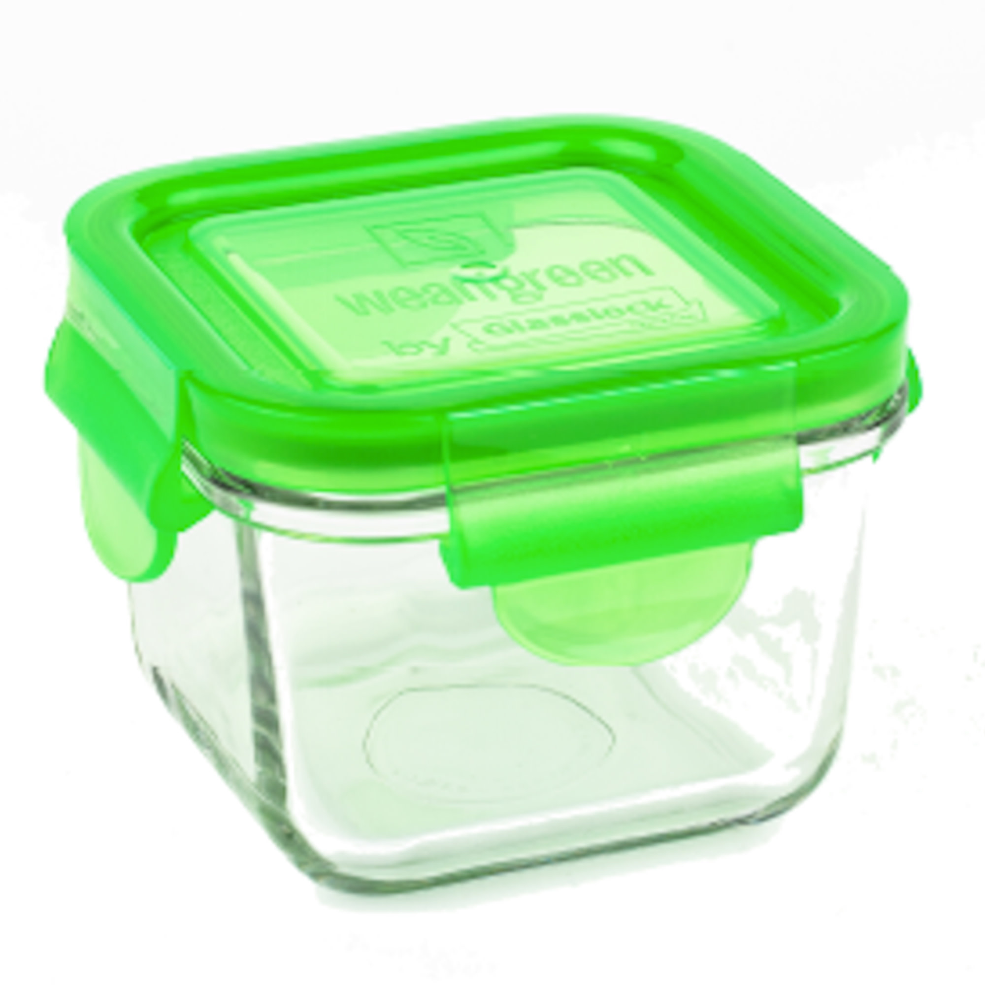 Wean Green 7 oz. Snack Cube - Pea