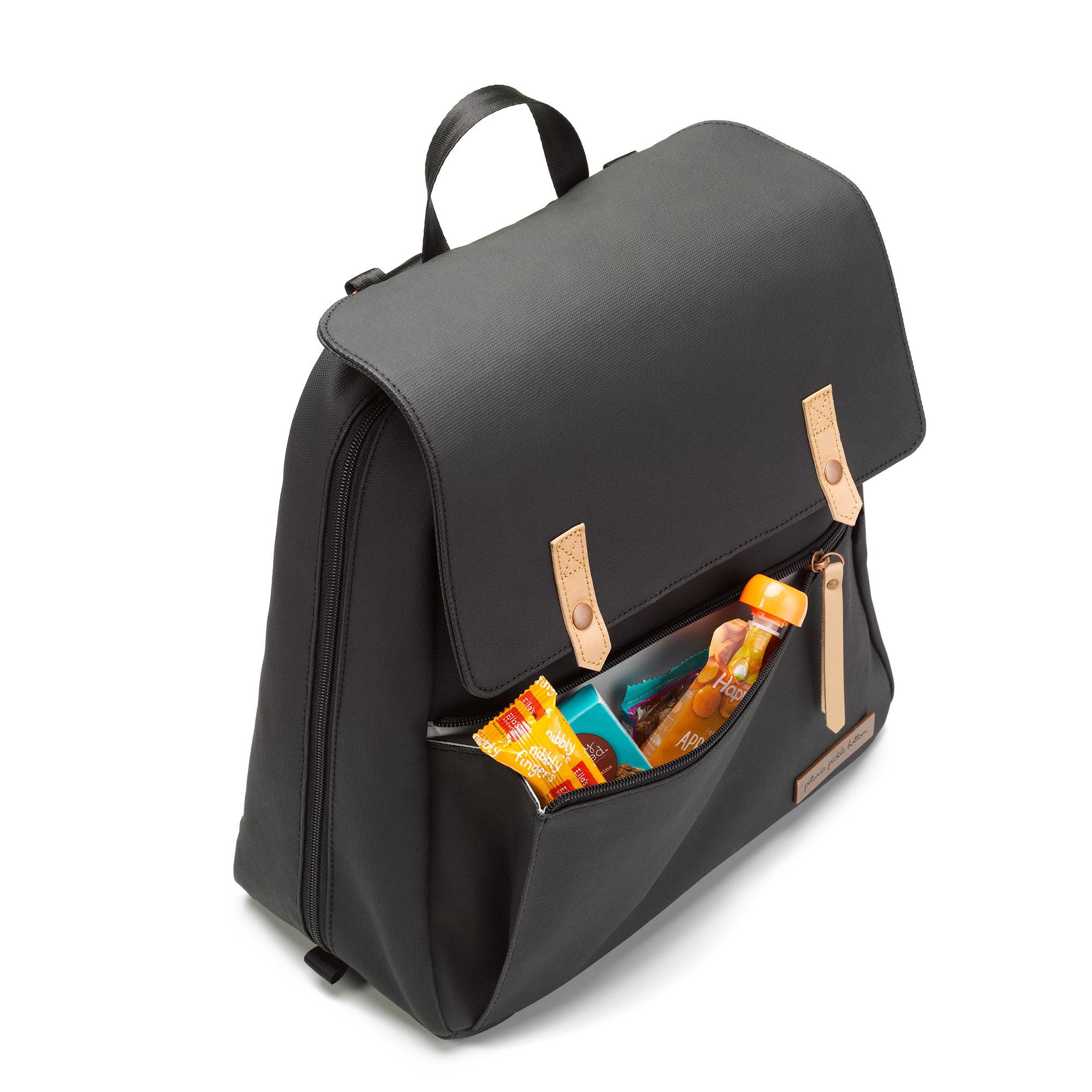 Meta Backpack Black Matte Canvas