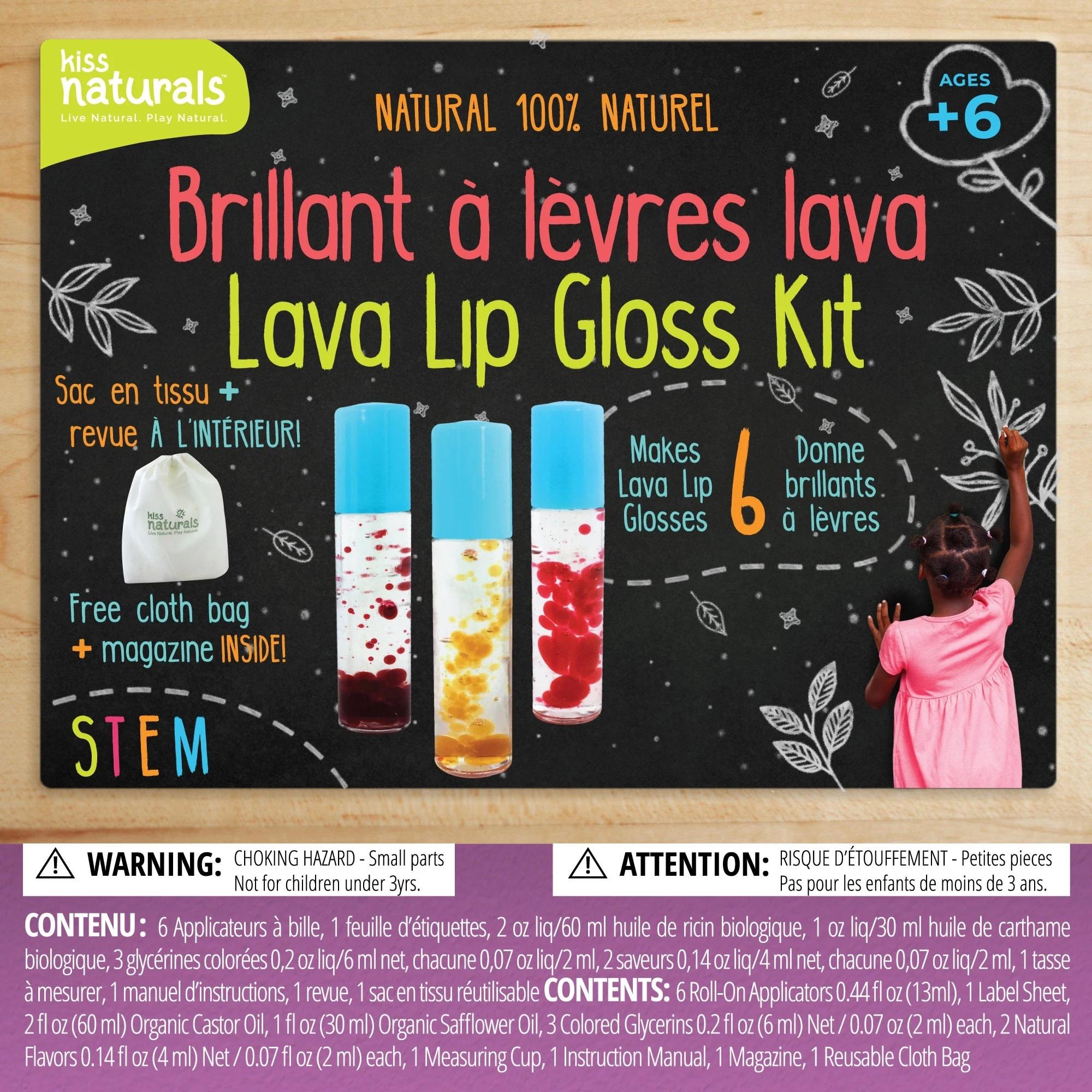 Kiss Naturals Lava Lip Balm Kit