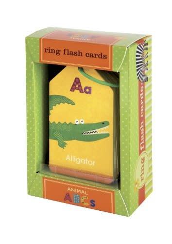 Mudpuppy Ring Flash Cards - Animal ABC's