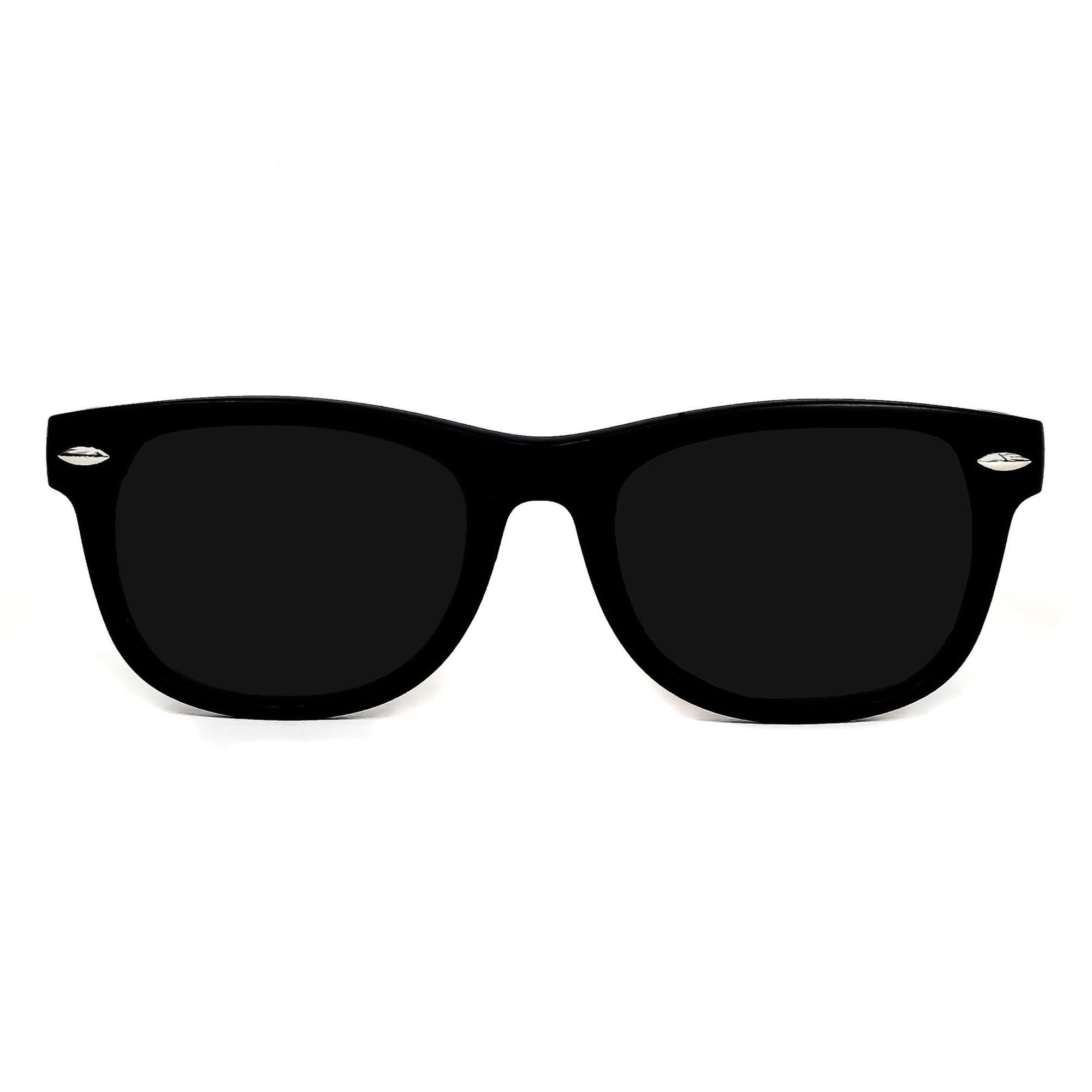 Babyfied Apparel Classic Black Sunglasses 6-24mos
