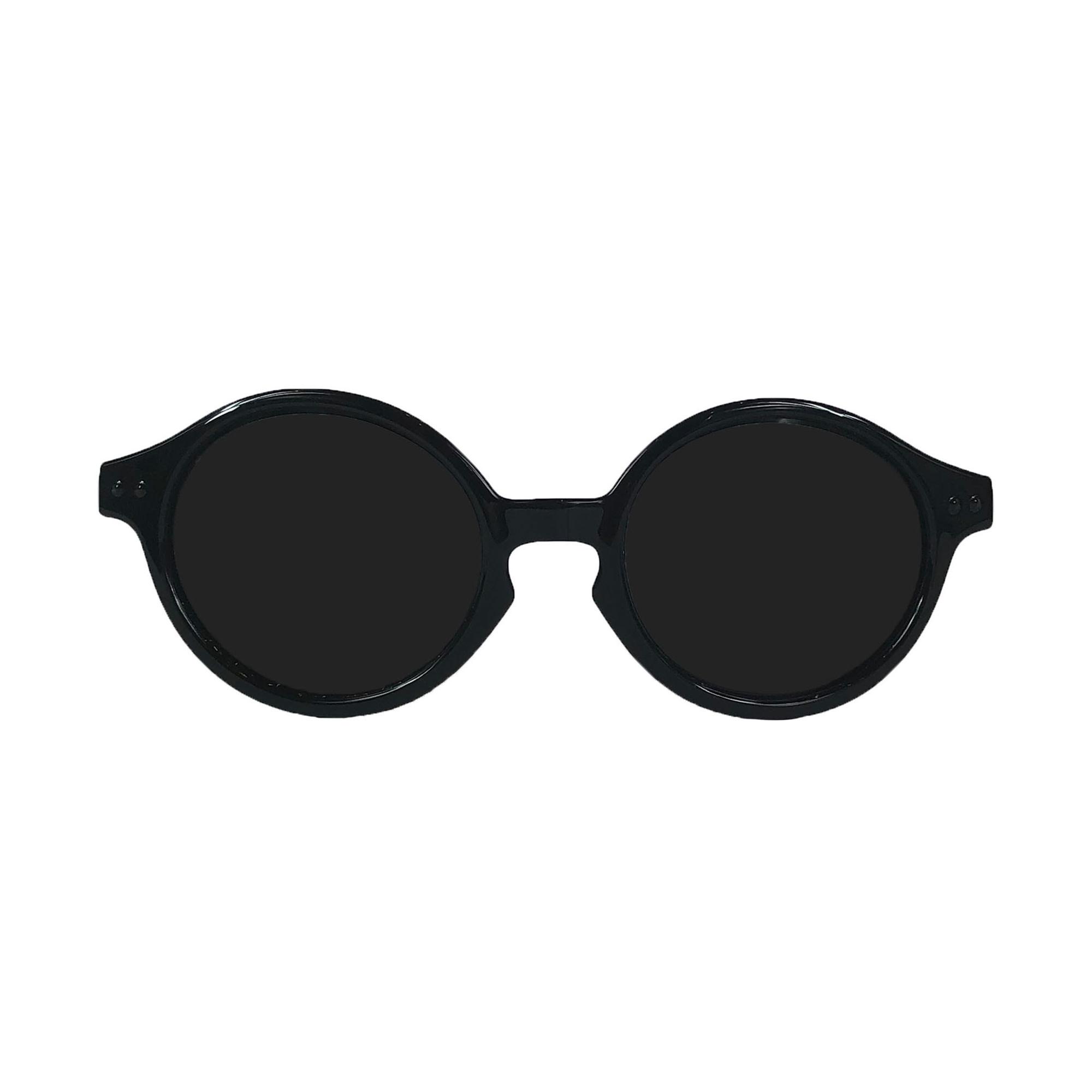 Babyfied Apparel Black Rounds Sunglasses 2-24mos