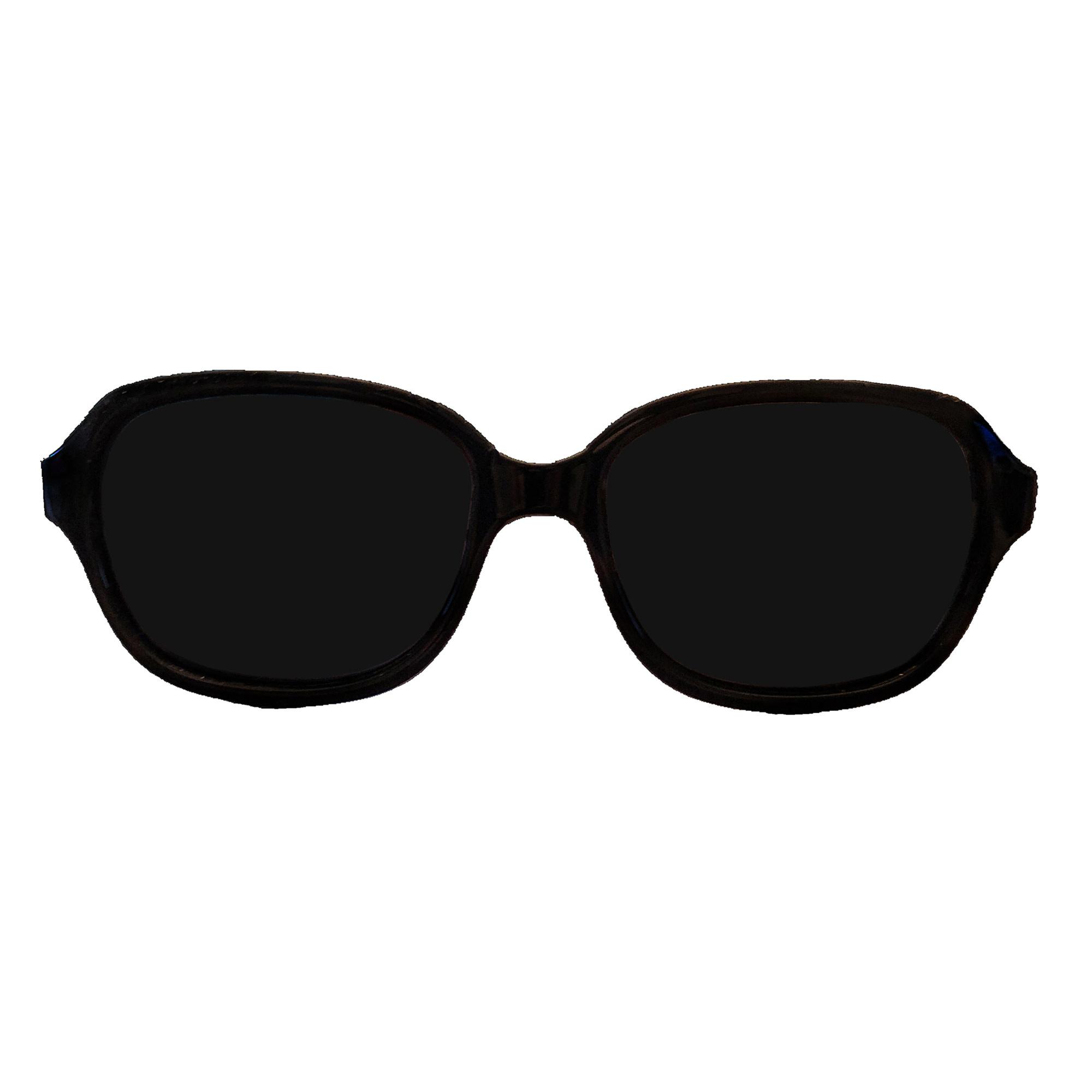 Babyfied Apparel Retro Squares Sunglasses - Black