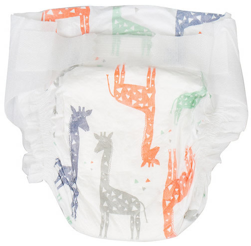 The Honest Company Diapers - Size 3 Multi Giraffes (34 pc)