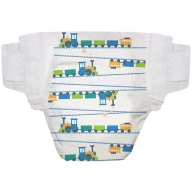 The Honest Company Diapers - Size 3 Trains (34 pc)
