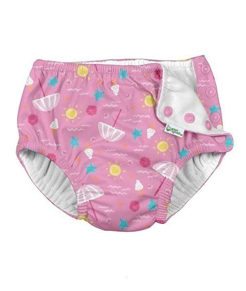 iPlay Light Pink Beach Day Swim Diaper