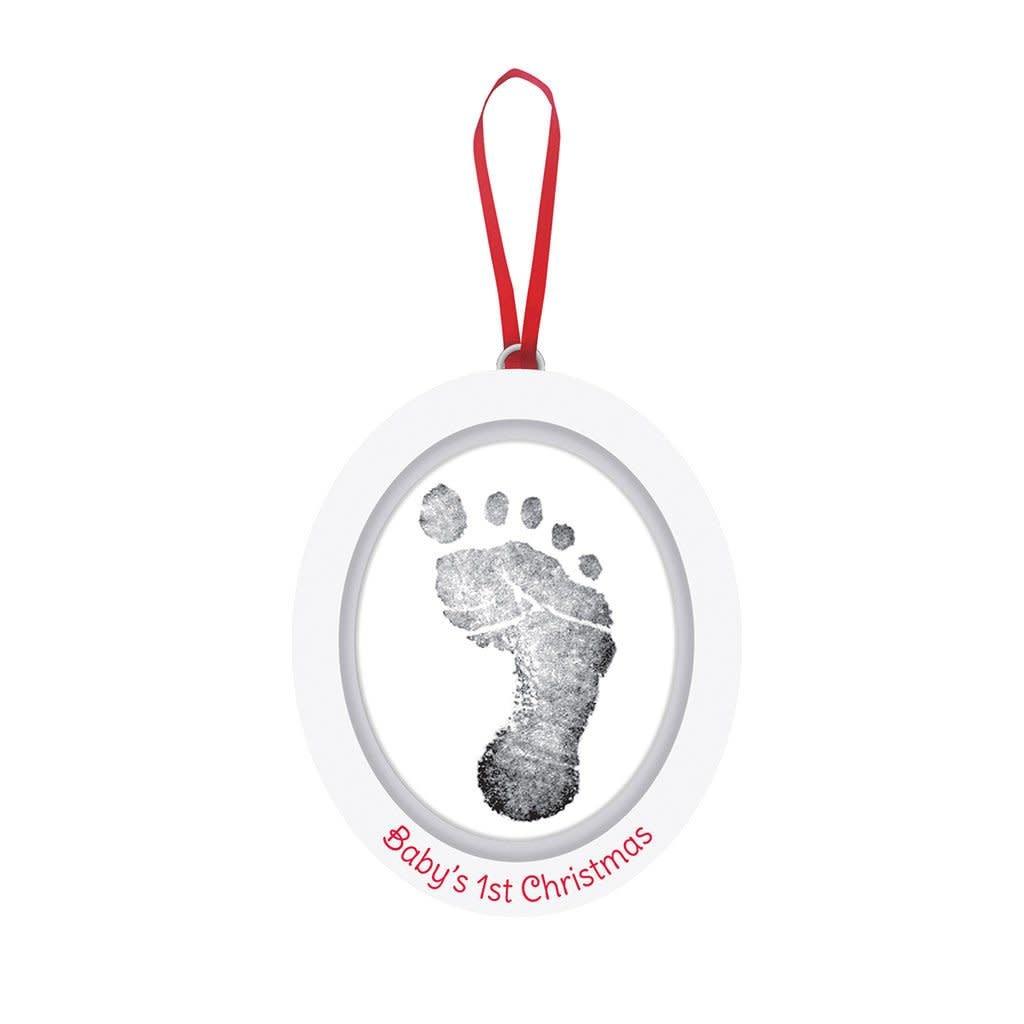 Pearhead Babyprints Photo Ornament - White