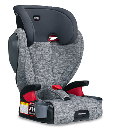 Britax Highpoint w/ Removable Back Asher