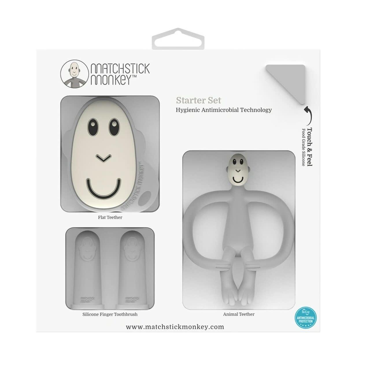 Matchstick Monkey Starter Set - Grey