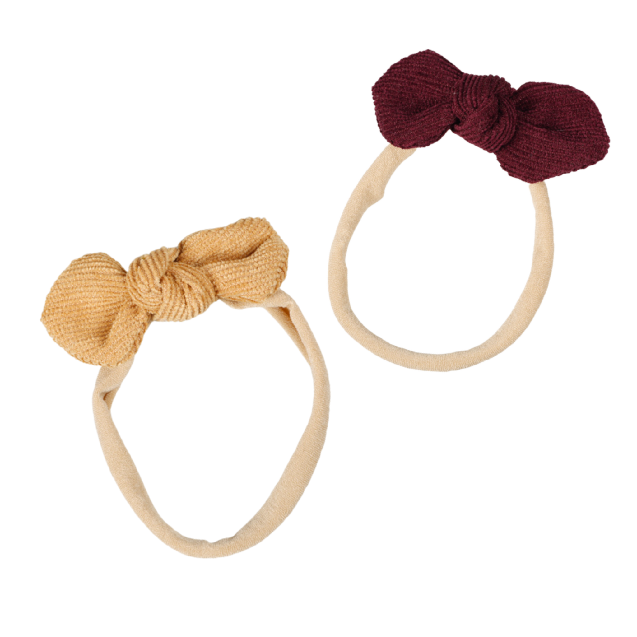 Lox Lion Duo Headband w/ Corduroy Buckle