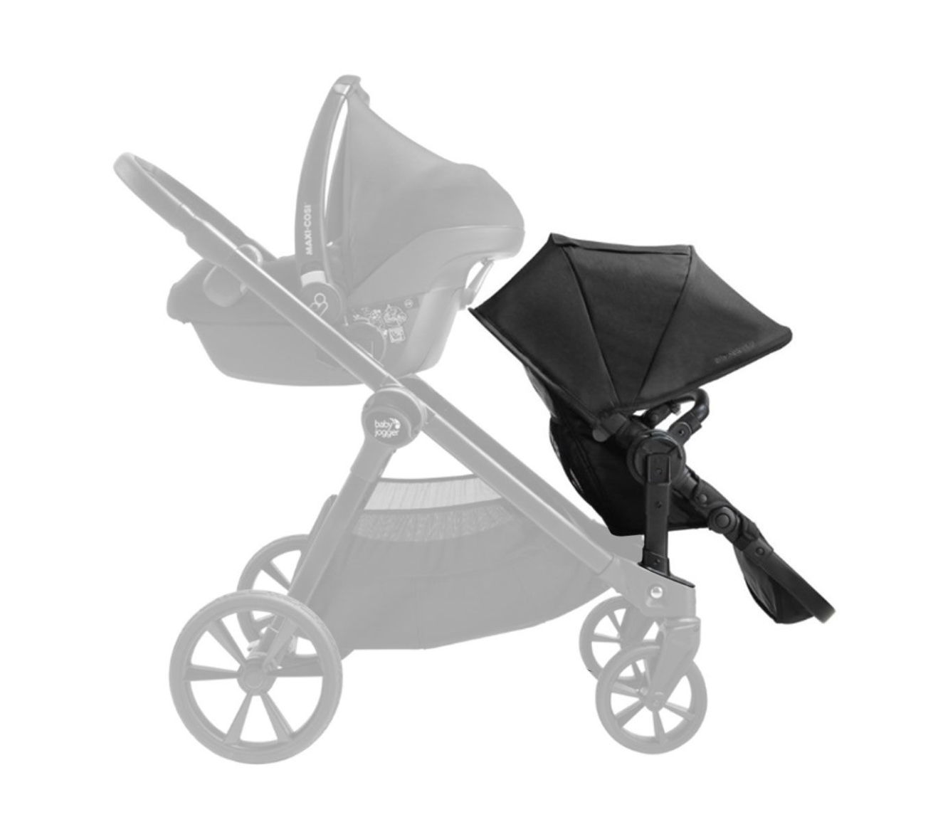 Baby Jogger City Select2 Second Seat Kit
