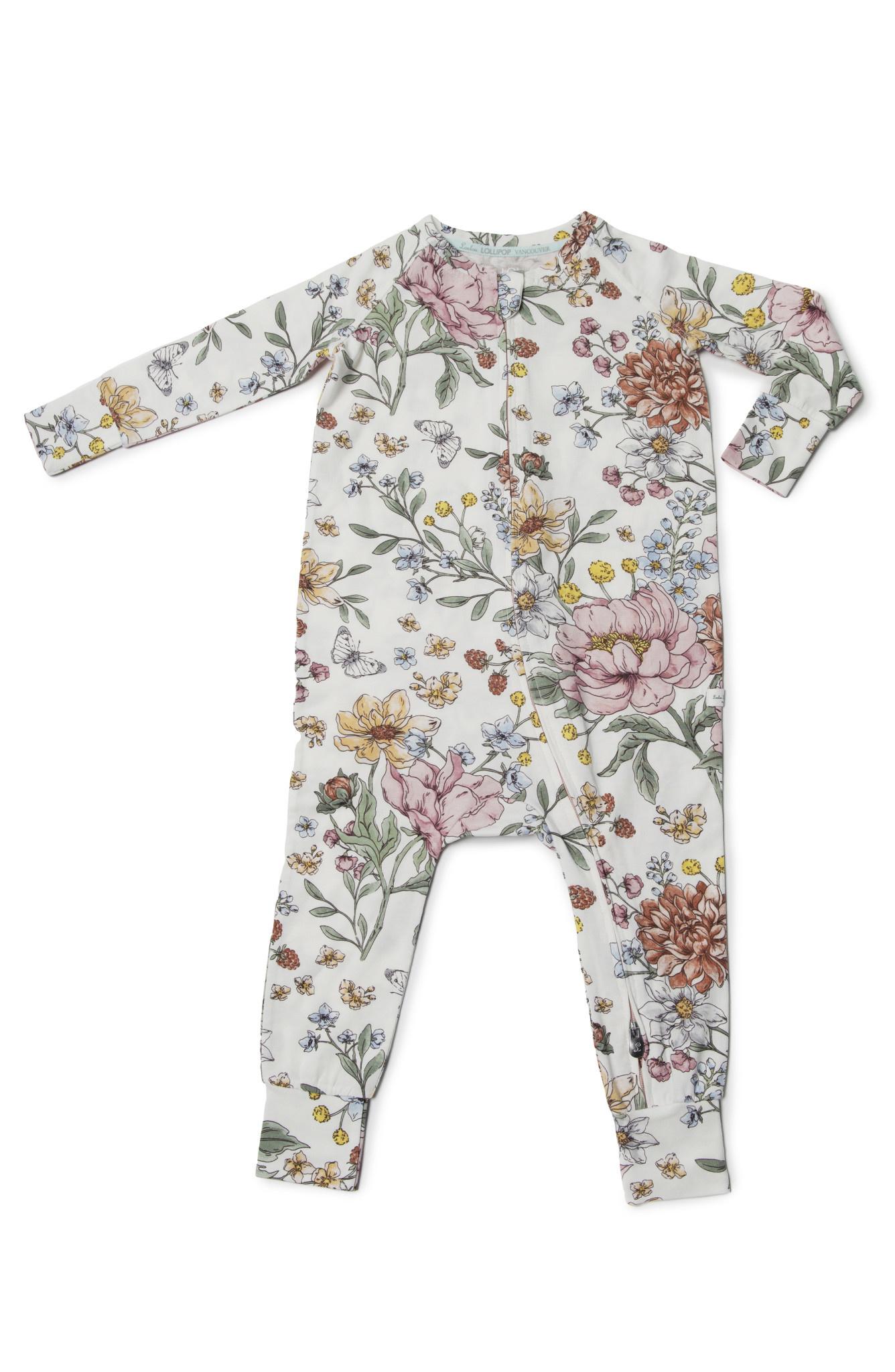 Loulou Lollipop Tencel Sleeper - Secret Garden