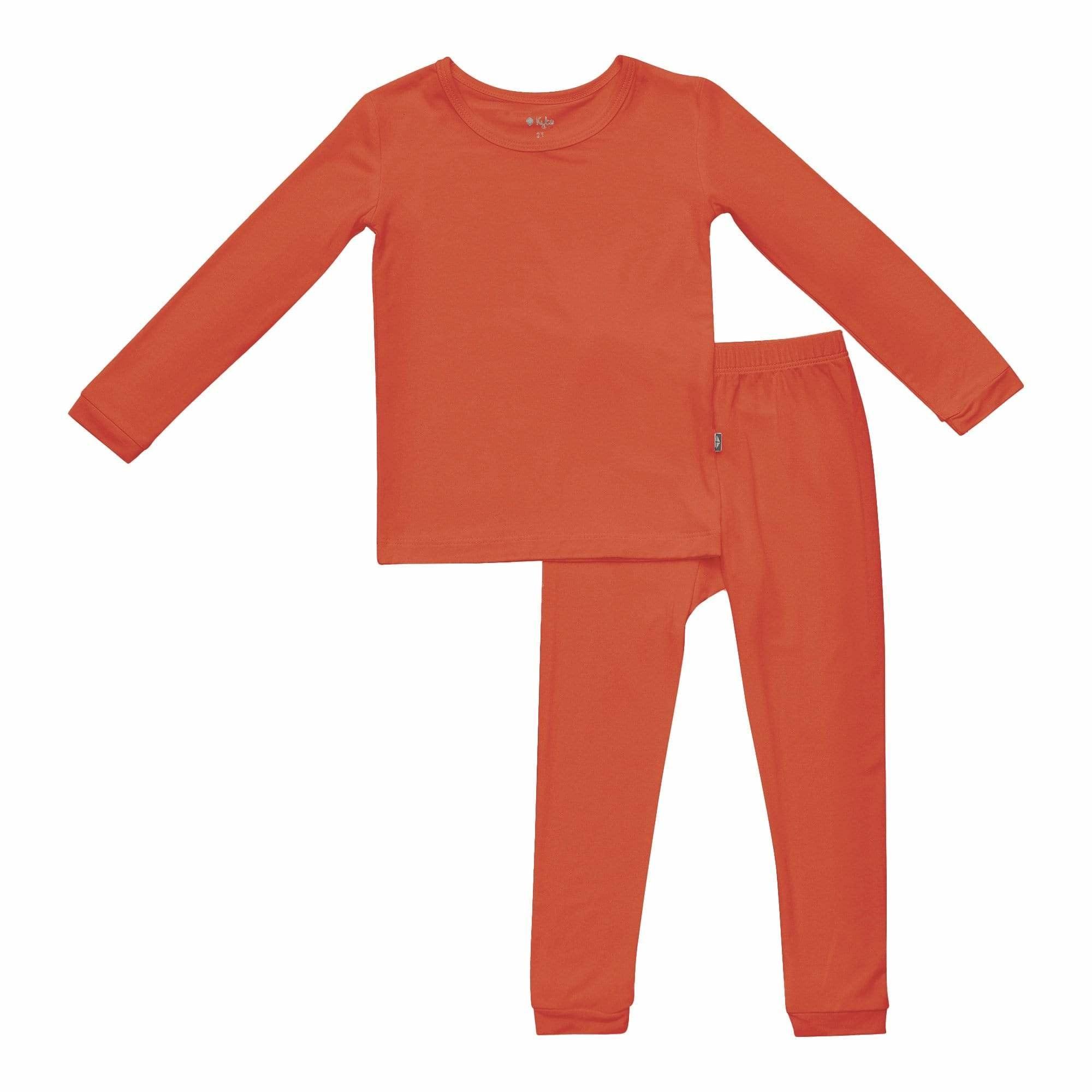 Kyte Baby Pajama Set - Clementine