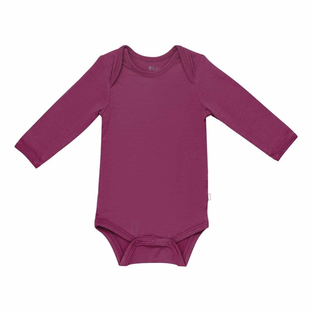 Kyte Baby Long Sleeve Bodysuit - Dahlia