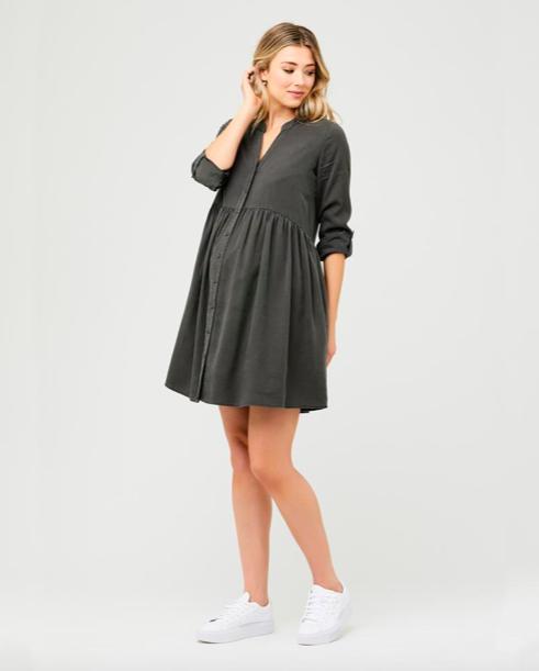 Ripe Olive Demi Tencel Dress