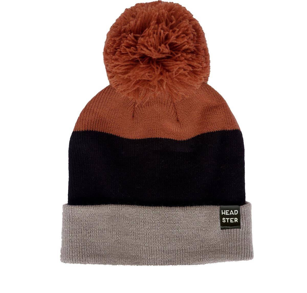 Headster Tri-Colour Ginger Cookie Toque