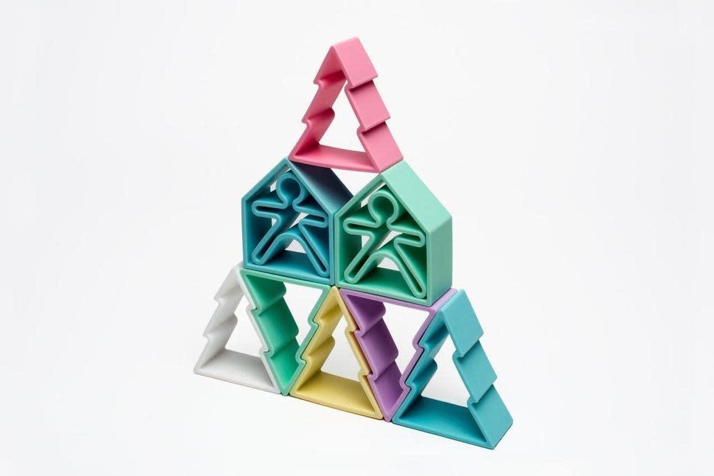 Dena - Pastels - 18-Piece Silicone Toy Set