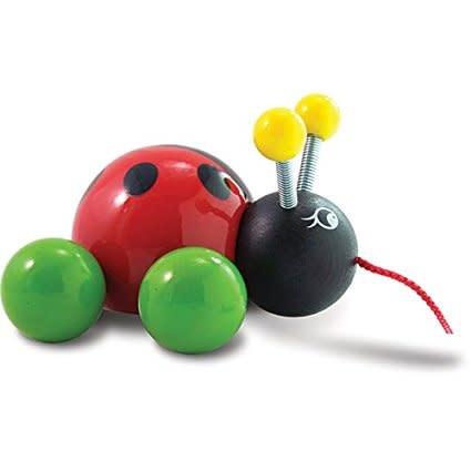 Vilac Ladybug Pull Toy