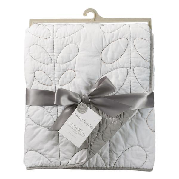 Lolli Living Quilted Comforter Cotton Poplin Grey
