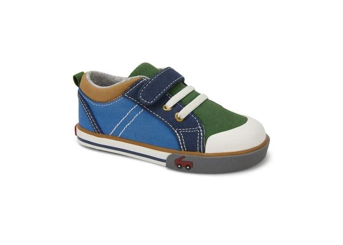 See Kai Run Tanner Athletic - Blue/Green