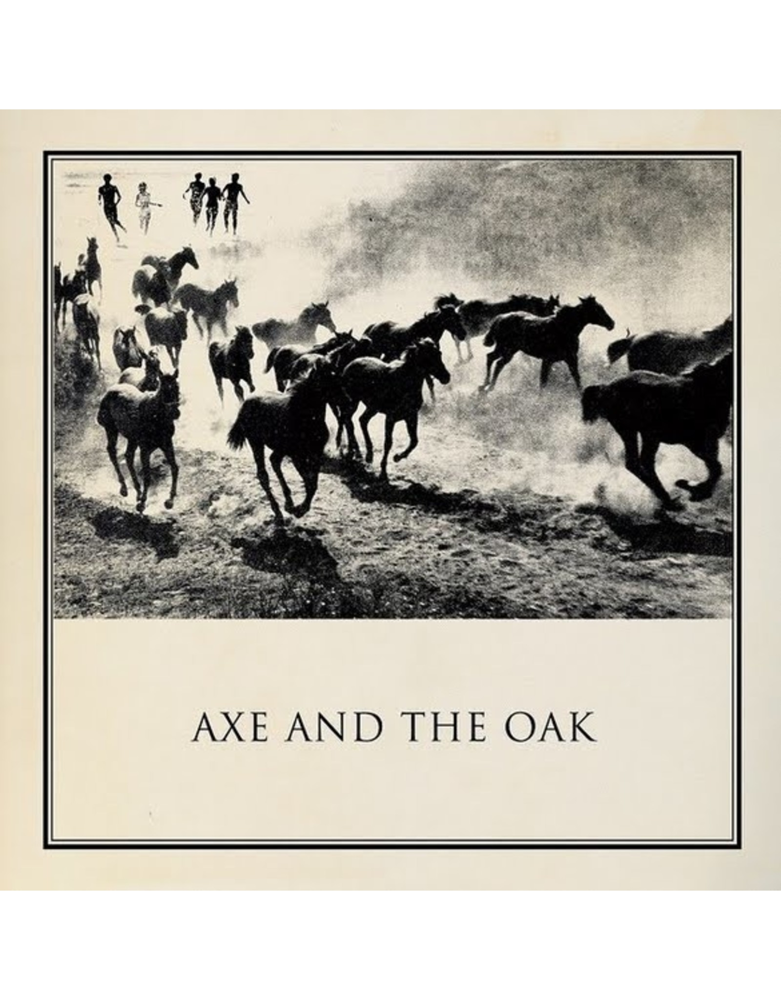 """New Vinyl Axe And The Oak - Dancing on the Grave of Jack the Ripper 7"""""""