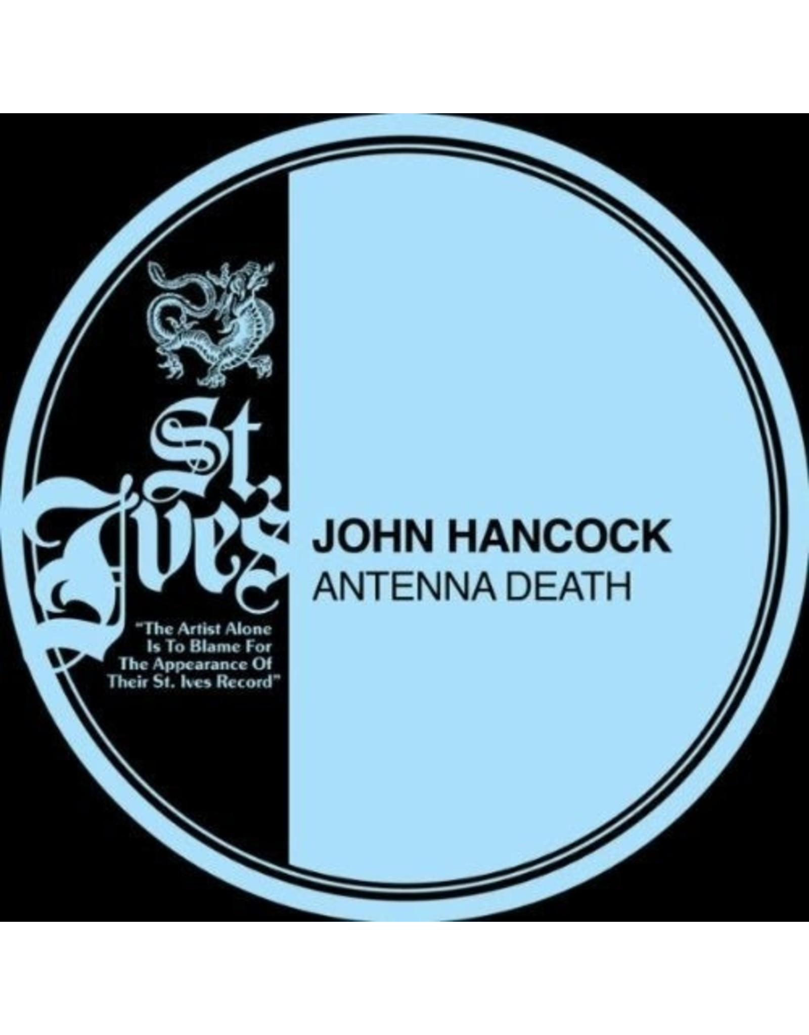 New Vinyl John Hancock - Antenna Death LP