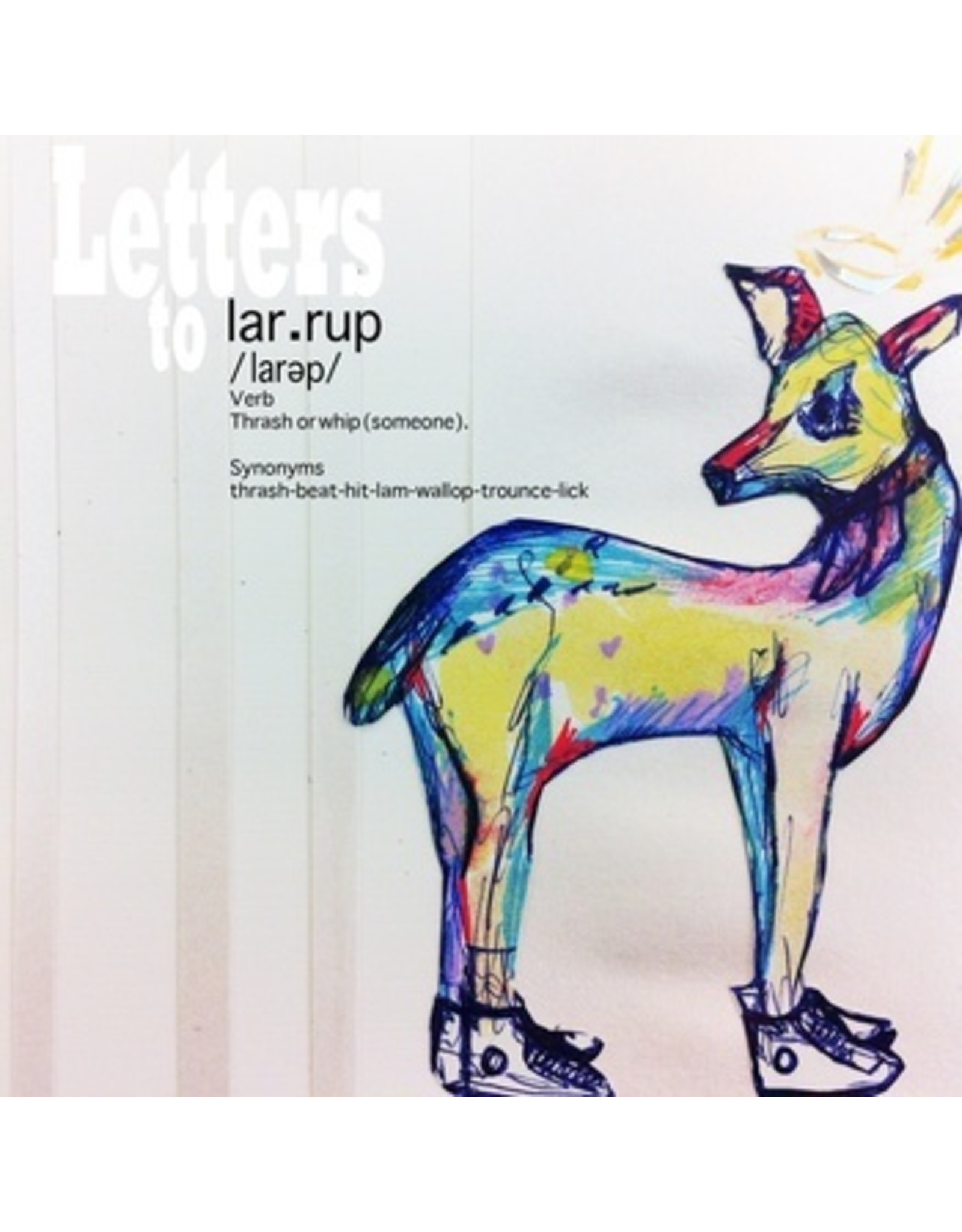 New Vinyl Pocket Of Lollipops - Letters To Larrup 7""