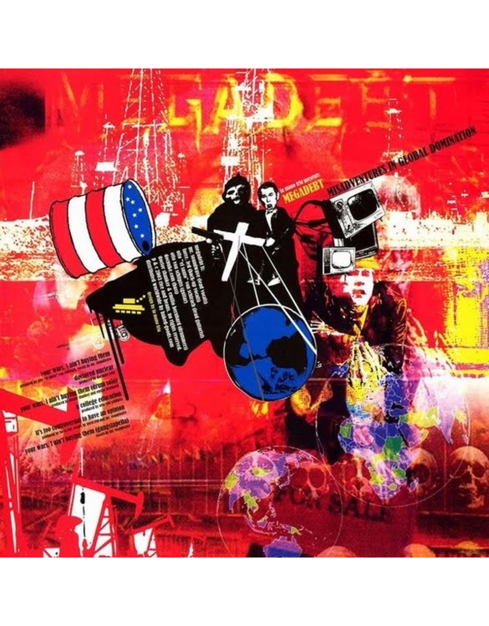 "New Vinyl Megadebt - Misadventures In Global Domination 12"""