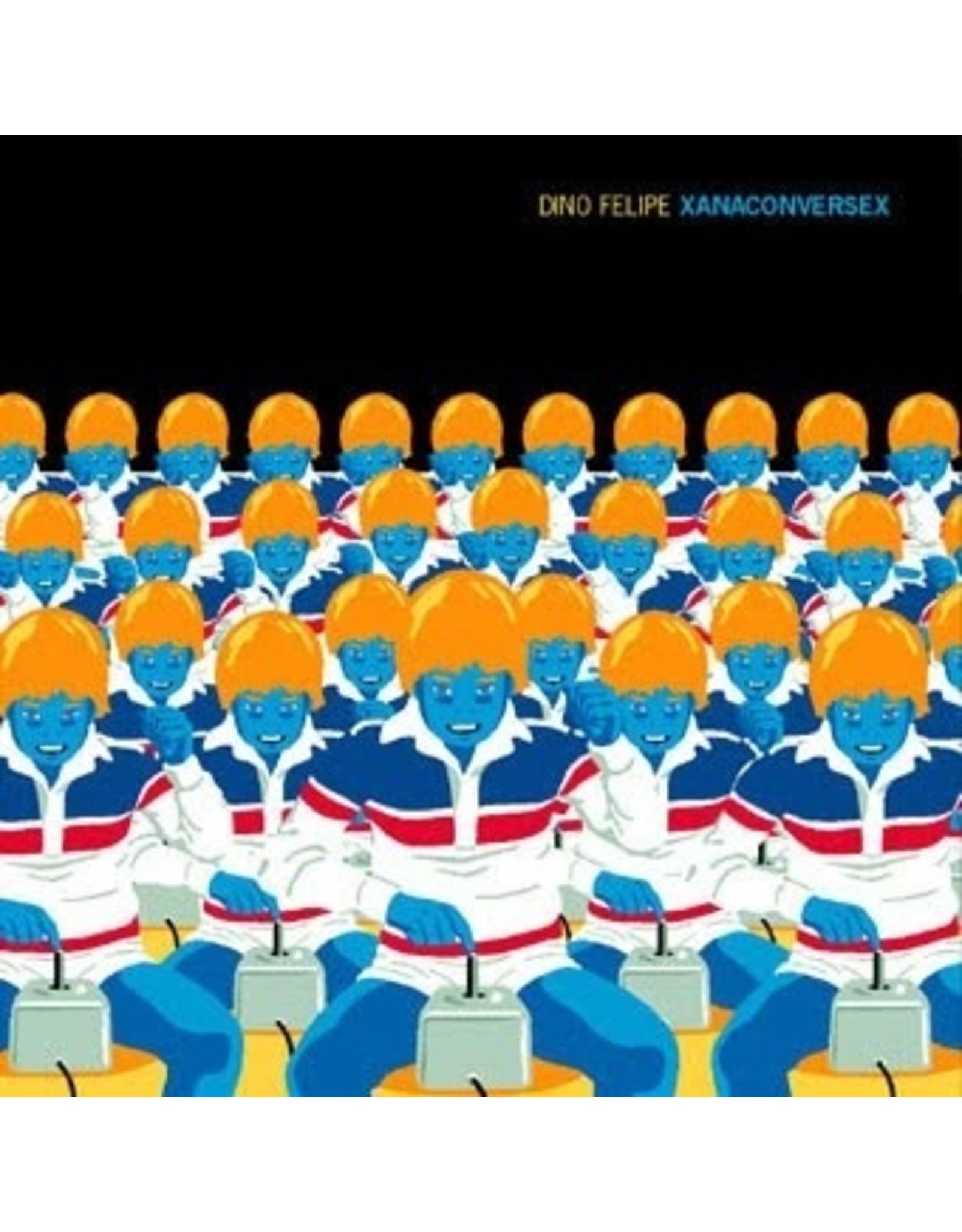 """New Vinyl Dino Felipe - Xanaconversex 12"""" EP"""