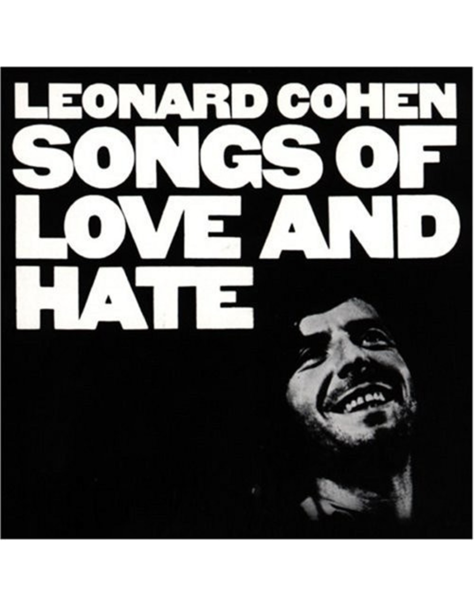 New Vinyl Leonard Cohen - Songs Of Love And Hate LP