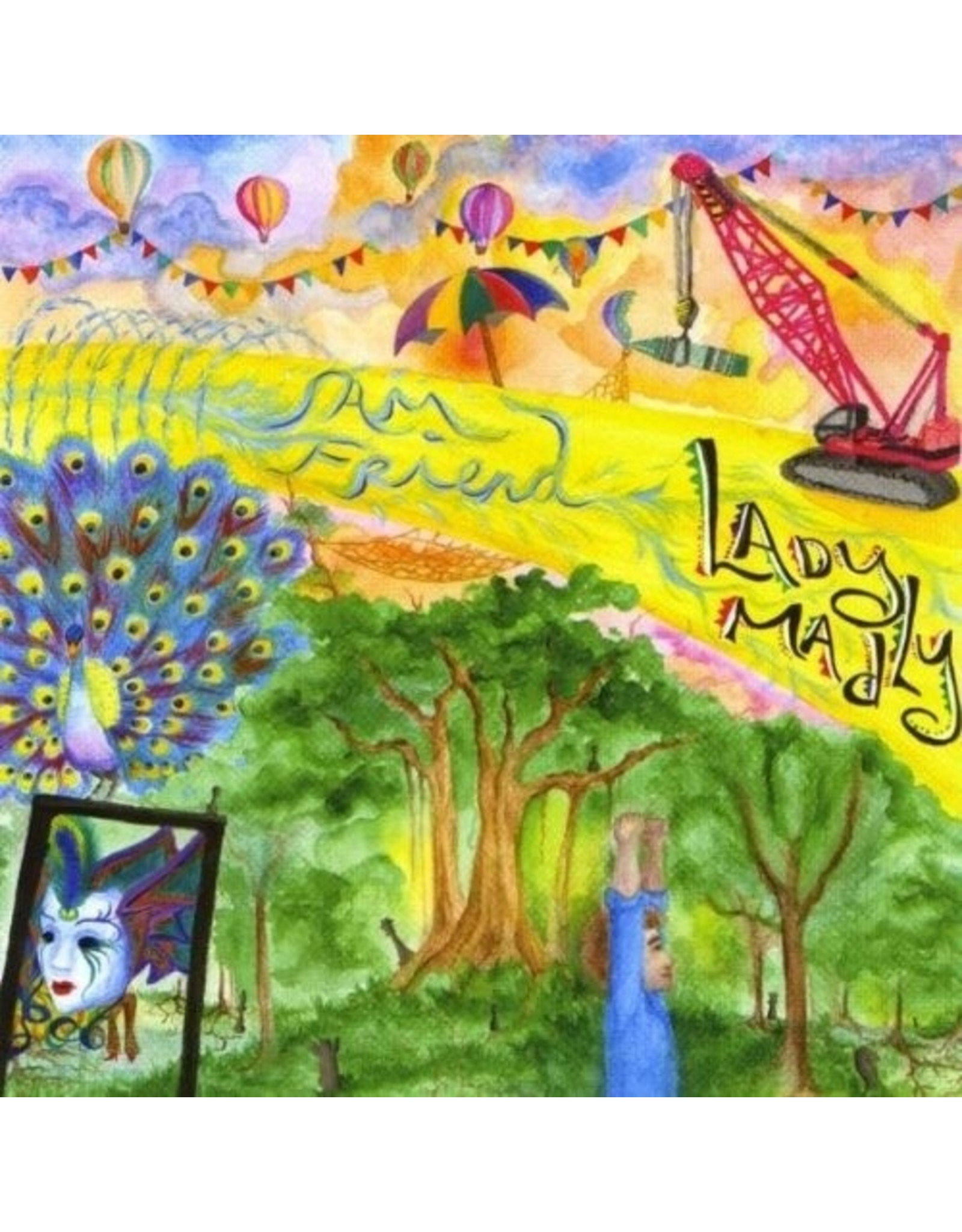 New Vinyl Sam Friend - Lady Madly LP