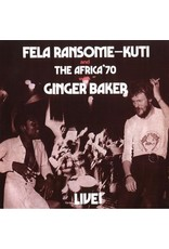 New Vinyl Fela Ransome Kuti & Africa 70 With Ginger Baker - Live! LP