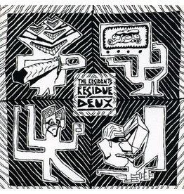 New Vinyl The Residents - Residue Of The Residents 2LP