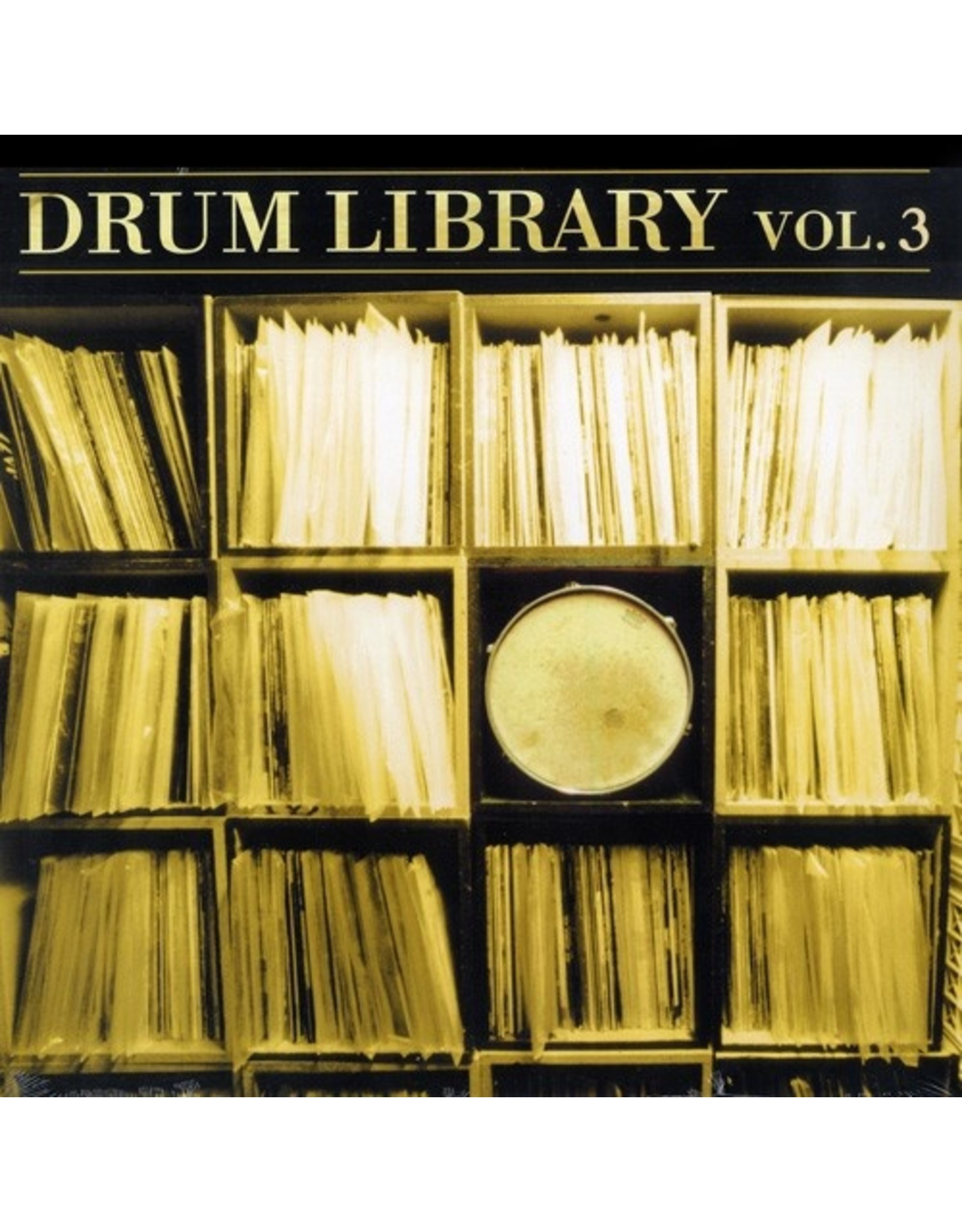 New Vinyl DJ Paul Nice - Drum Library Vol. 3 LP