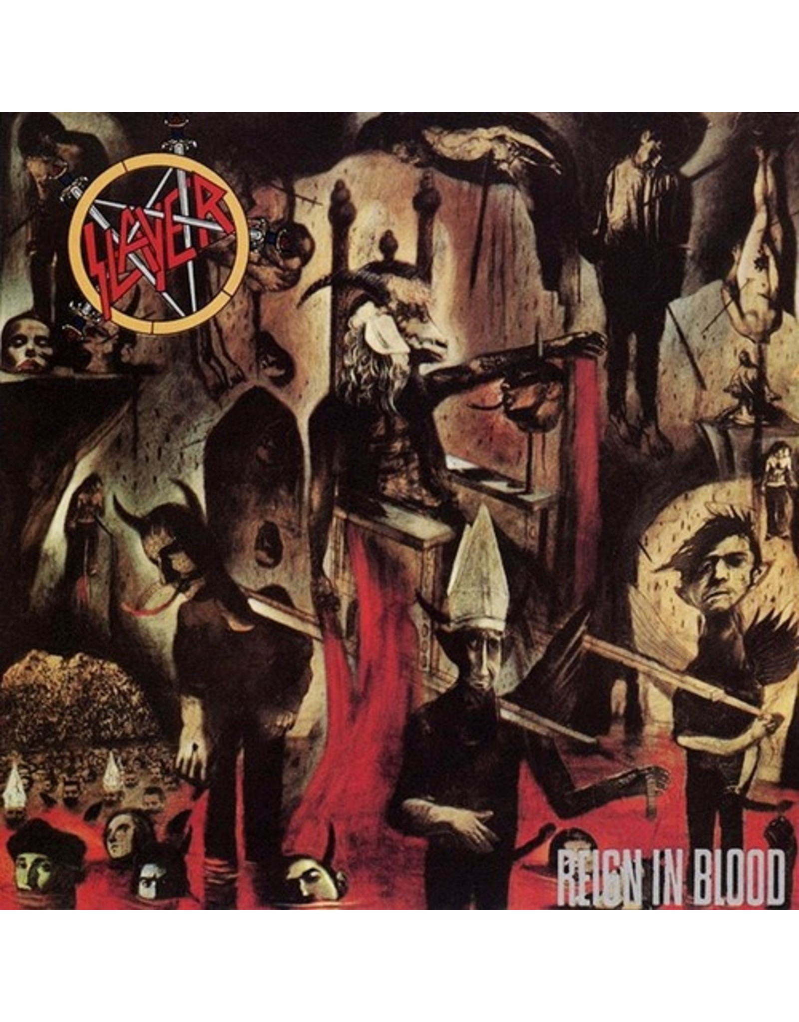 New Vinyl Slayer - Reign In Blood LP