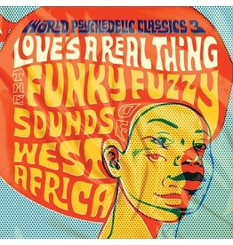 New Vinyl Various - World Psychedelic Classics 3: Love's A Real Thing 2LP