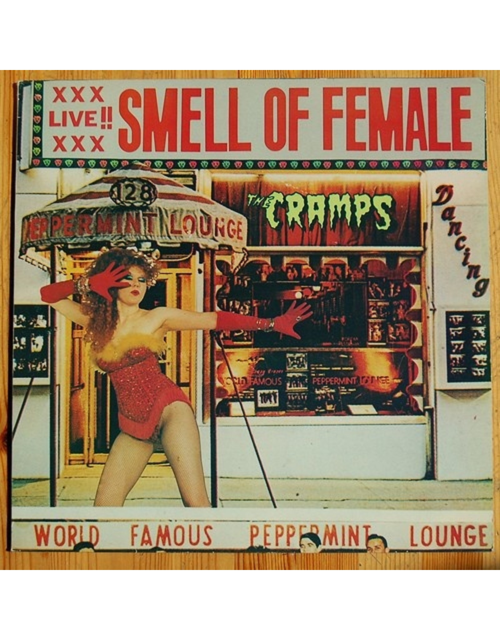 New Vinyl The Cramps - Smell Of Female LP